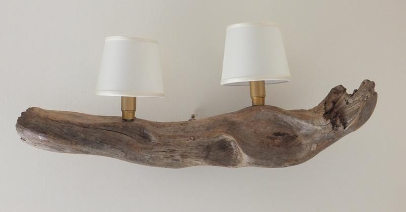 Applique su legno di recupero art metamorfosi sign